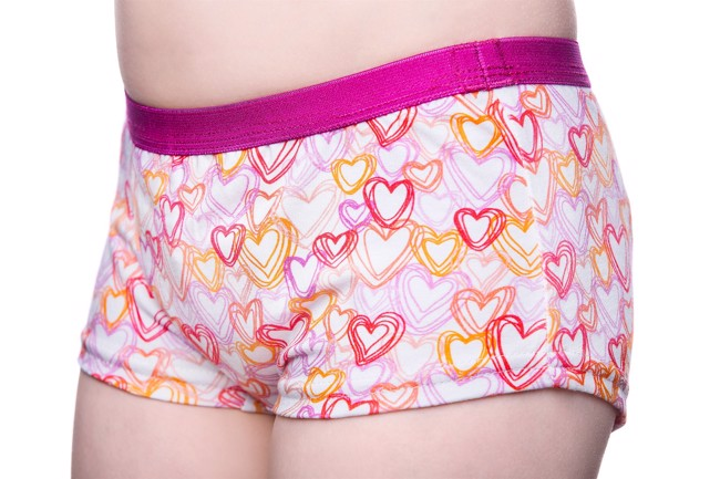 Culotte d\'incontinence - Hearts